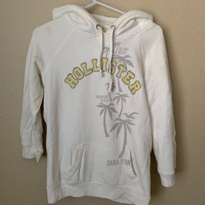 🤑$8 FINAL PRICE🤑Hollister white pullover sweater